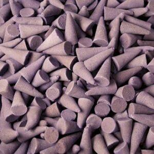 Lavendel Räucherkegel