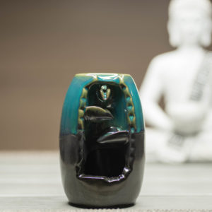 Räucherbrunnen Vase Frontansicht