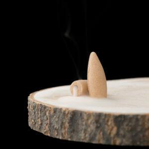 Räucherkegel Wasserfall Vanille Rauch